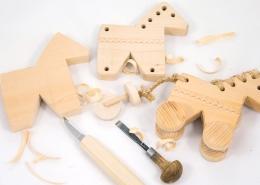 Výroba dreveného koníka