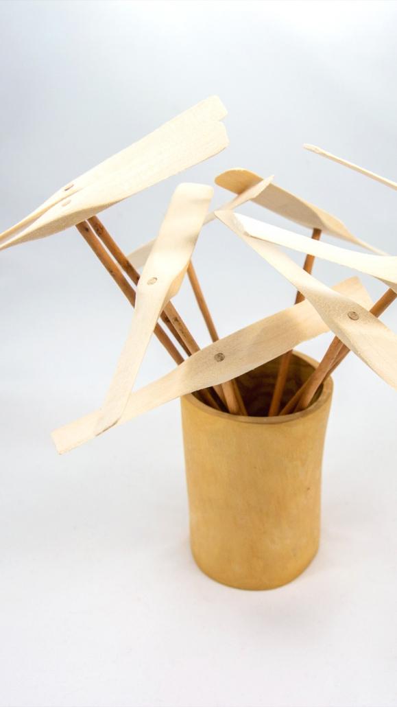 Výroba detskej hračky - vrtuľka